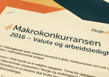 Makrokonkurransen publisert