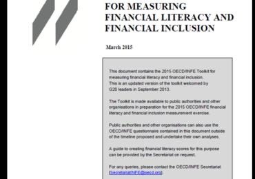 Trykk her for å laste ned OECD INFEs Toolkit for measuring Financial Literacy