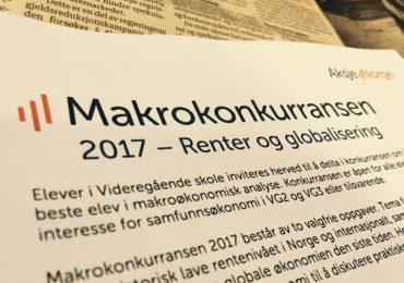 Enda tid – Makrokonkurransen 2017