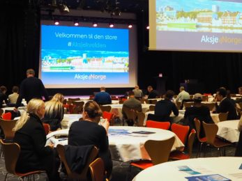 Presentasjoner fra aksjekvelden i Stavanger