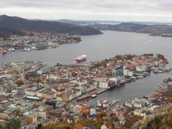 Fullt hus i Bergen