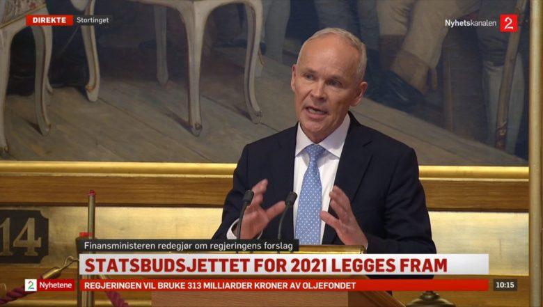 Statsbudsjettet 2021 er klart