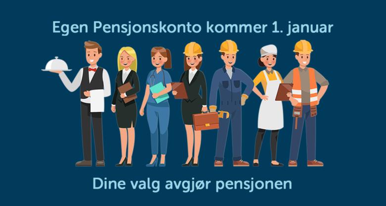 Velg fond til din jobb-pensjon